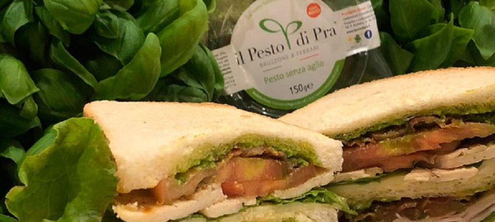 Pesto Club Sandwich